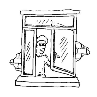 Finestre produzione finestre ad anta for Finestra rinascimentale disegno